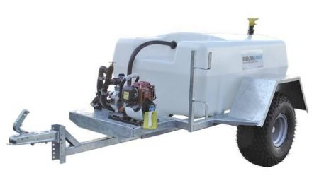 200L Water Bowser for Plant Watering - Site Tow