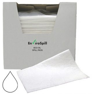 Oil Absorbent Pads (Pack Absorbs 120L) - EnviroSpill
