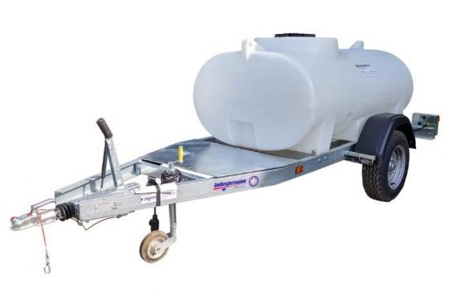 ht bowser highway 1200l tow water tank
