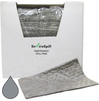 Oil Absorbent Pads (Pack Absorbs 100L) - Envirospill