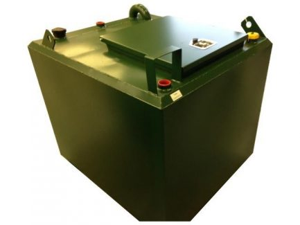 680 Litre Bunded Waste Oil Tank - WOB150