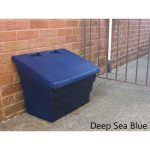 blue grit bin Deep Sea