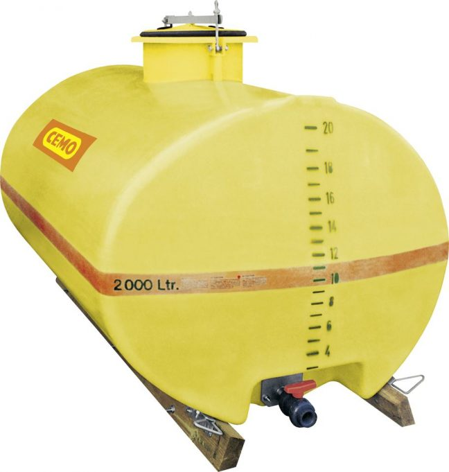 2000 litre water bowser cemo