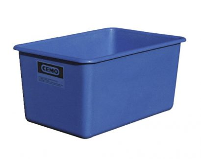 100 Litre Glass Reinforced Plastic Box in Blue