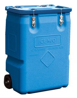 170L Mobile Box - Blue Lid - CEMO