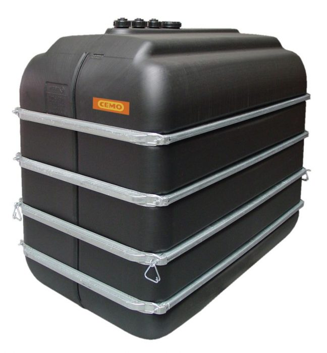 PE Lagertank black water tank 5000 litre