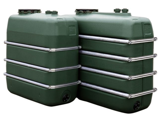 Plastic Lager tank banded 1500 litre and 2000 litre