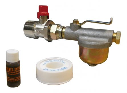 Ultra Compact Tank Isolation Filter Assembly