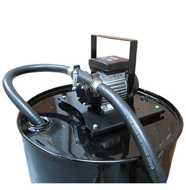 carry plate kit on barrel with pump