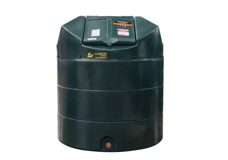 1350 Litre Vertical Oil Tank - Bunded Carbery