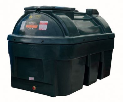 1350 Litre Horizontal Oil Tank - Bunded Carbery