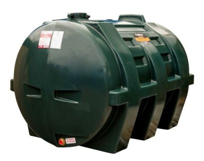 1350 Litre Horizontal Single Skin Oil Tank - Carbery