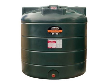 1350 Litre Vertical Single Skin Oil Tank - Carbery