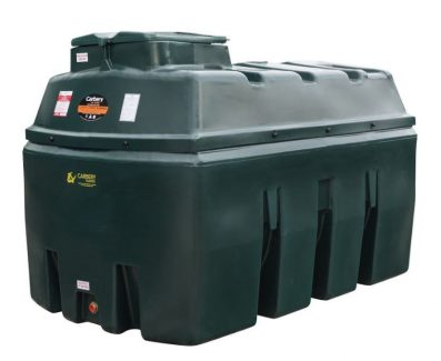 2500 Litre Horizontal Bunded Oil Tank - Carbery