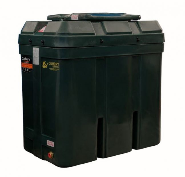 650 litre Bunded oil tank carbery