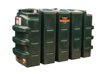 900 Litre Compact Single Skin Oil Tank - Carbery