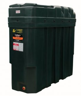 1000 Litre Super Slimline Carbery Oil Tank