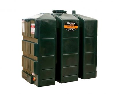 650 Litre Single Skin Plastic Oil Tank - Carbery