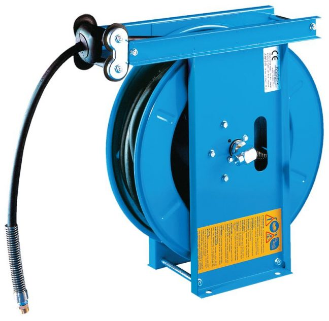 mounted retracting hose reel a4h
