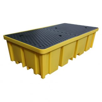 1150L Bund Pallet with 4 way Fork Access for 8 x 205L Drums