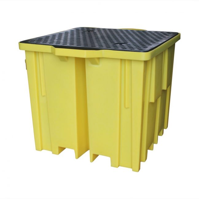 BB1FW 4 Way Entry Bund Pallet for 1000 Litre IBC
