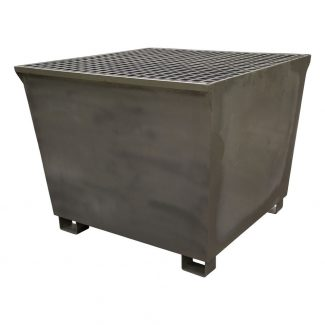 1100 Litre Single Galvanised IBC Bund