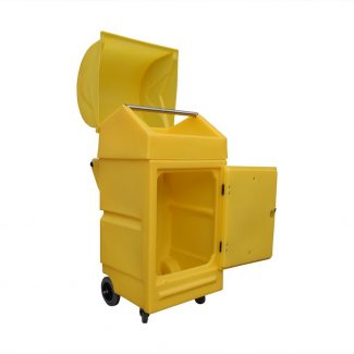 Light Mobile Spill Roll Station - Lockable with Wheels