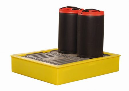 100 Litre Spill Tray for 4 x 25 Litre Cans