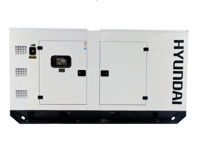 DHY125KSE water cooled generator