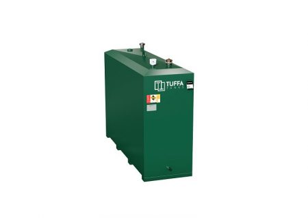900L Steel Bunded Oil Tank - 900SB