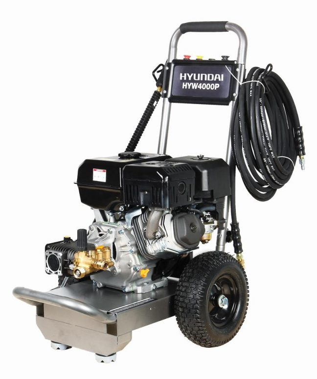 pressure washer with quick release 15m HYW4000P MAIN IMAGE