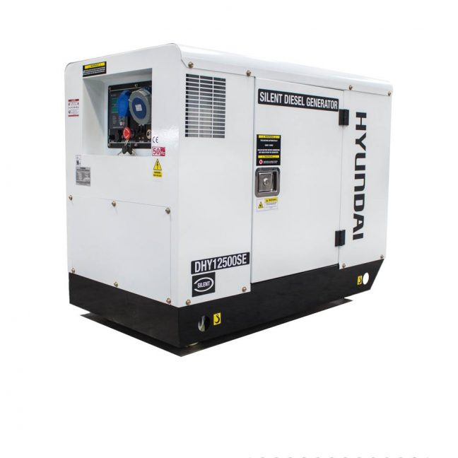 silenced single phase diesel generator DHY12500SE MAIN IMAGE