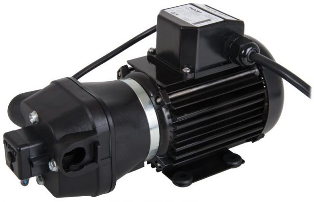2 pole induction motor demand pump R4300 530A