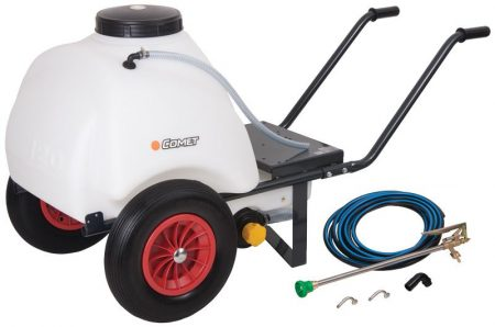 Wheelbarrow Water Tank - Portable 120 Litre Tank