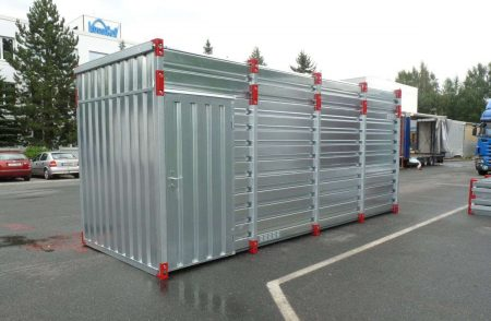 3m Storage Container - 2.43m High with Side Door