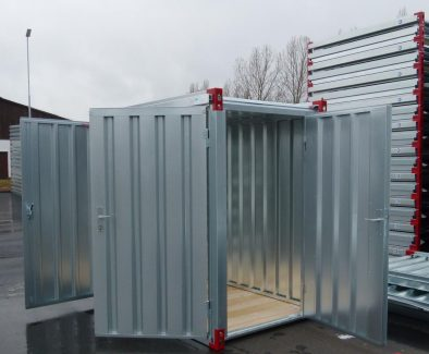 2.2x1.375m Container with Steel Floor & Double Door