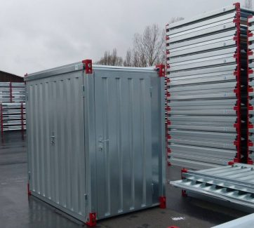 2.2x1.375m Container with Steel Floor & Side Door