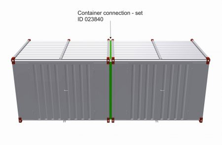 Connector for Kovobel Containers