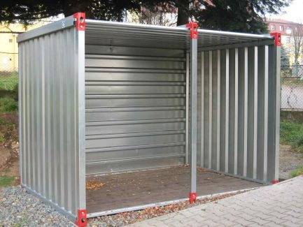 2.25m Storage Shed with Open Sides