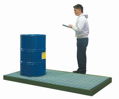 Steel Bunded Rectangle Spill Flooring - SF20