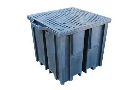 4 Way Pallet for 1000L IBC - Recycled Plastic