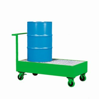 Steel Bunded Double Drum Trolley - ST2