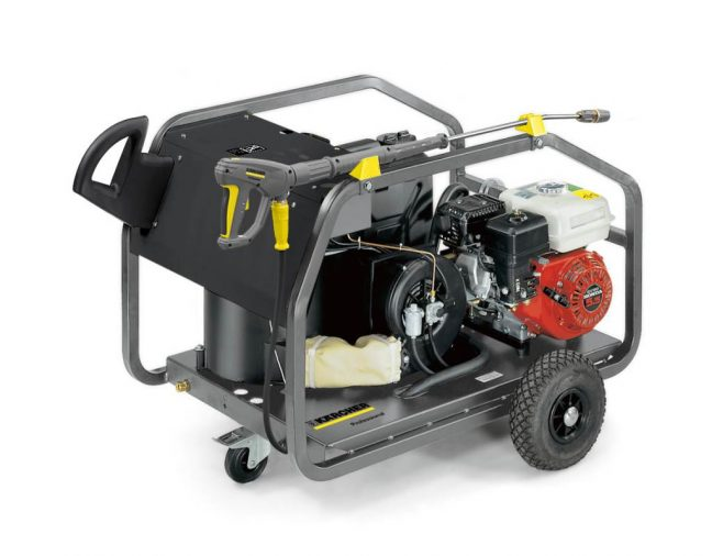 Petrol Engine Powered Budget Hot Water Pressure Washer from Karcher HDS 801 B