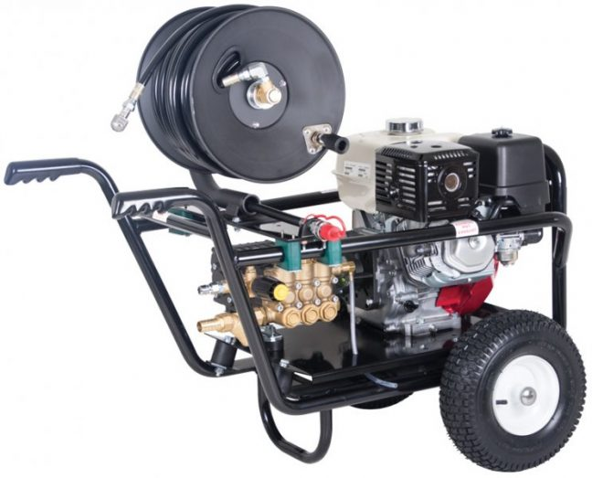 Petrol Drain Jetter and Pressure Washer JET30125PHR