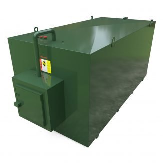 Atlantis - 15000 Litre Steel Bunded Oil Tank with Fill Cabinet