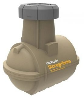 Harlequin 1400 Double Walled - Underground Oil Tank