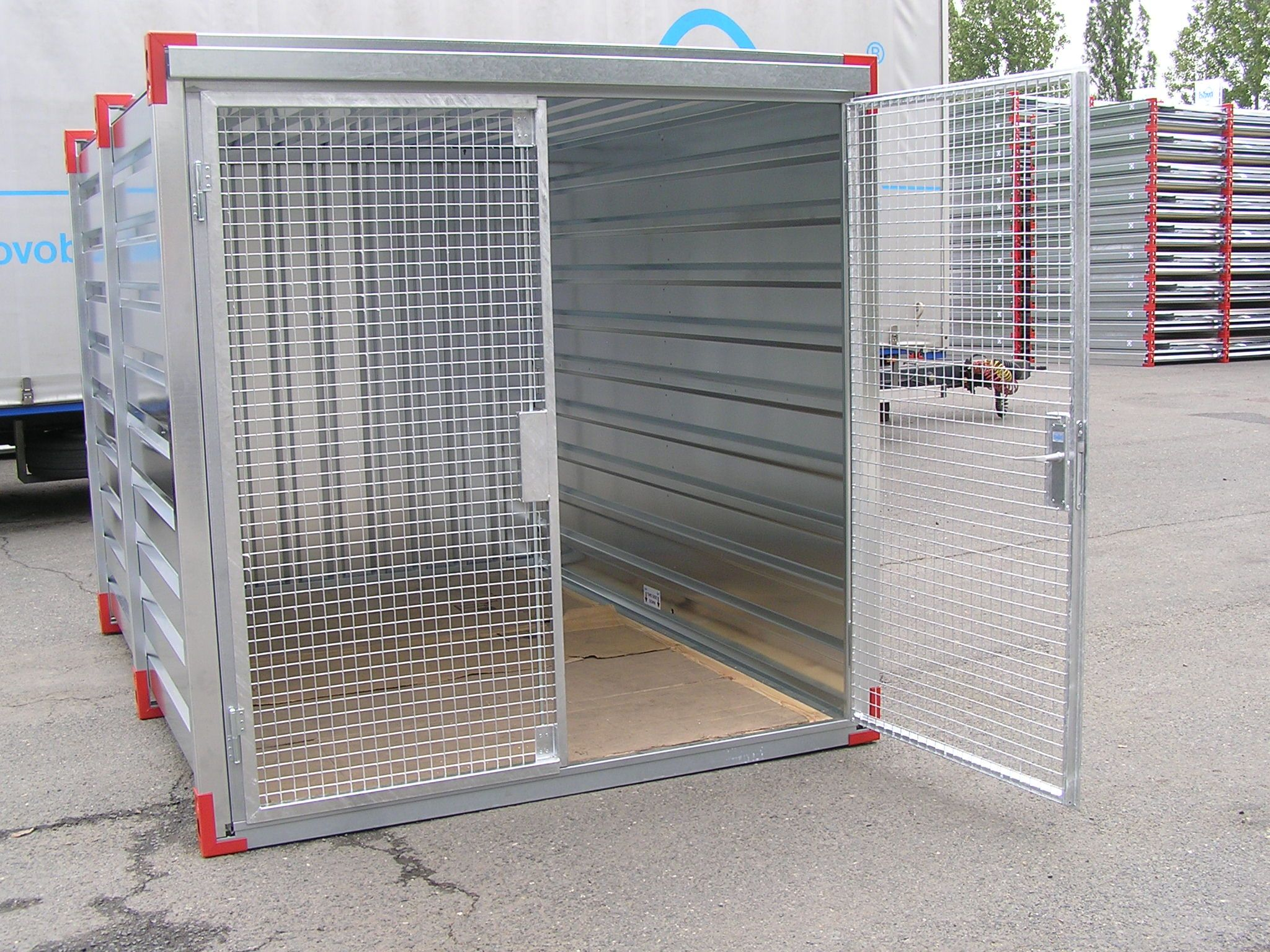 Double Wire Mesh Doors