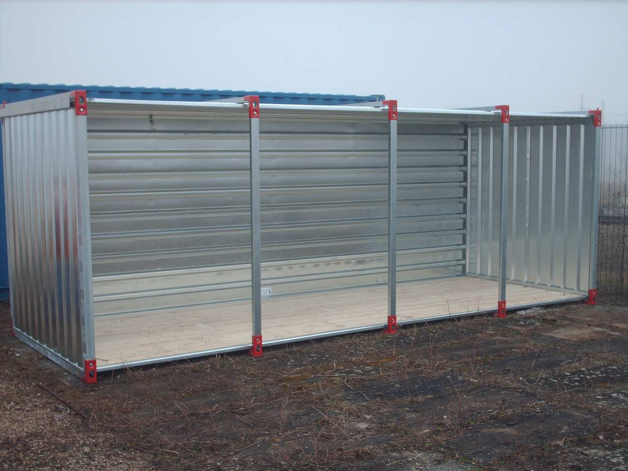 5m Flat Pack Universal Shed