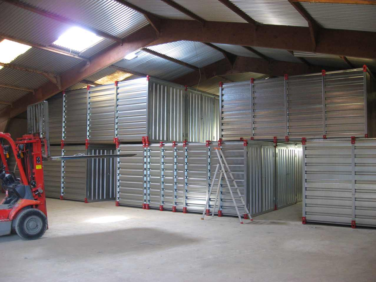 Create your own Combination of Containers to Build a Unique Storage Unit