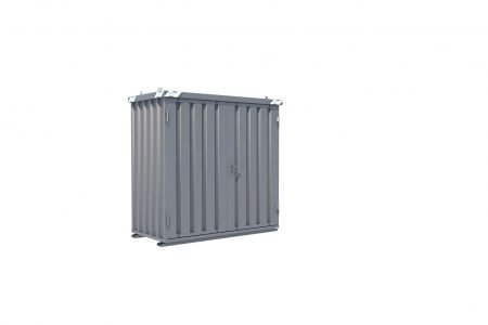 BOS Quick-Build Container 1x2m Double door on end